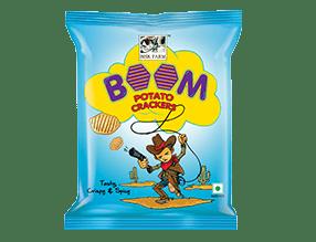 Boom Potato Crackers