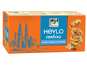 Heylo Cookies Honey Raisin Oatmeal