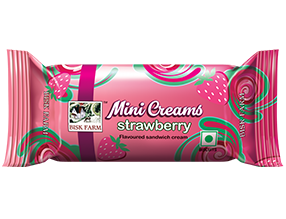 Mini Strawberry Cream